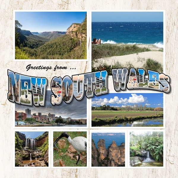 Greetings from australia template bundle digital art greetings from australia template bundle m4hsunfo