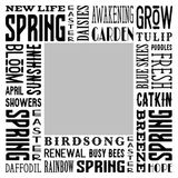 4 Seasons - Spring Subway Art Canvas