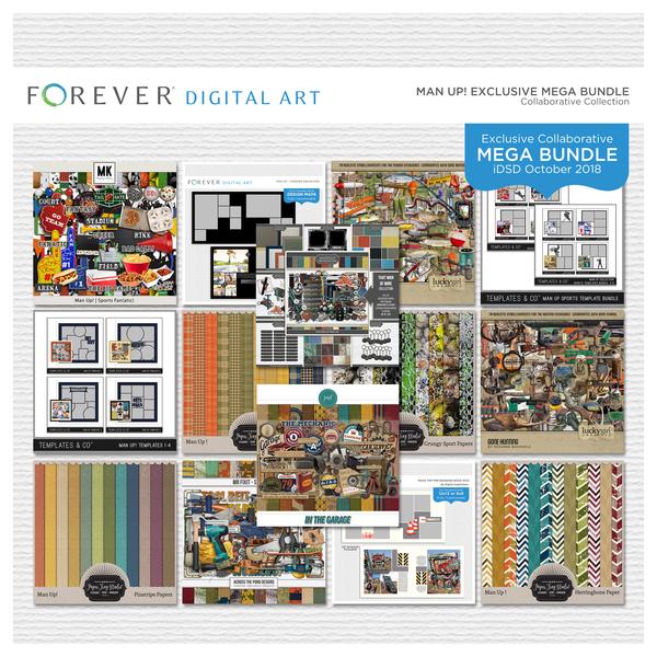 Man Up Exclusive Mega Bundle | Digital Art