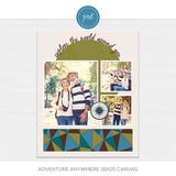 Adventure Anywhere 16x20 Canvas