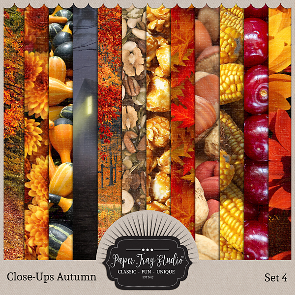 Close-ups Autumn - Set 4