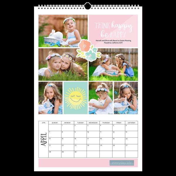 Be Happy Calendar