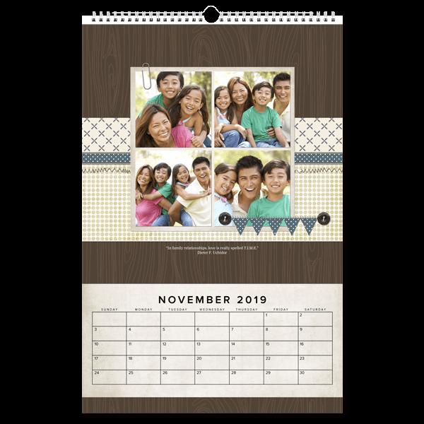 Mash Up Calendar