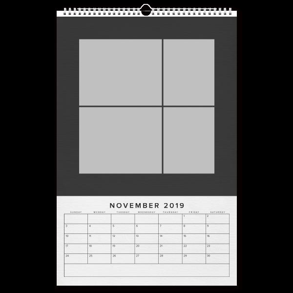 Simple Black Plus Year
