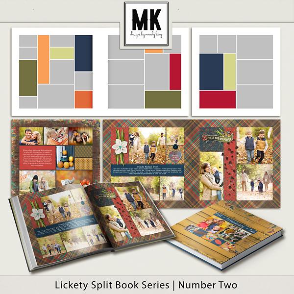 Lickety Split Book Series - Book Two Digital Art - Digital Scrapbooking Kits