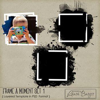 Frame A Moment Frames Set 1
