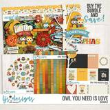 Owl You Need Is Love Bundle