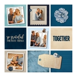 12x12 Color Blocked Yearbook