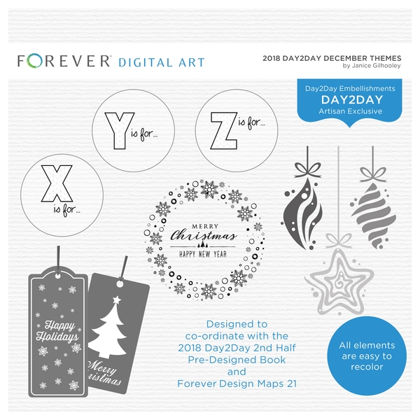 2018 Day2day December Themes