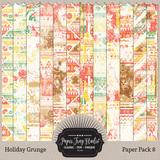 Holiday Grunge - Sets 5-8