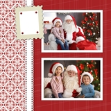 Be Merry 12x12 Predesigned Pages