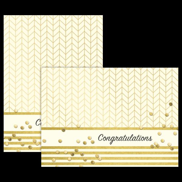 Confetti Congratulations Card
