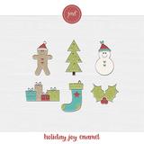 Holiday Joy Enamel