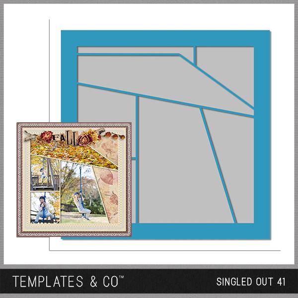 Singled Out 41 Digital Art - Digital Scrapbooking Kits