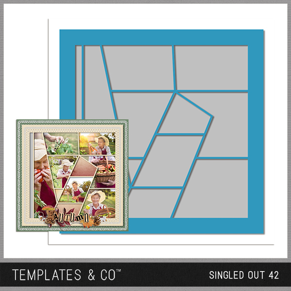 Singled Out 42 Digital Art - Digital Scrapbooking Kits