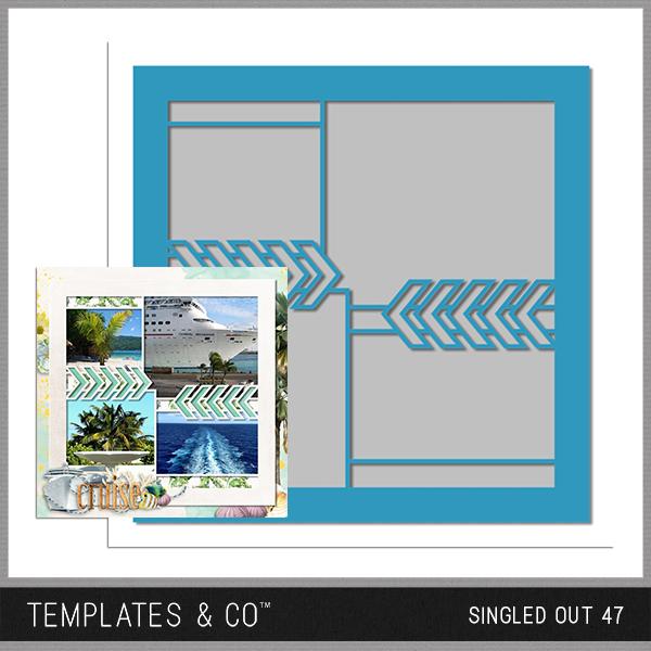 Singled Out 47 Digital Art - Digital Scrapbooking Kits