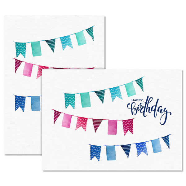 Birthday Banners Card