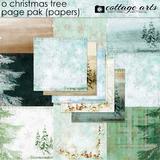 O Christmas Tree Page Pak