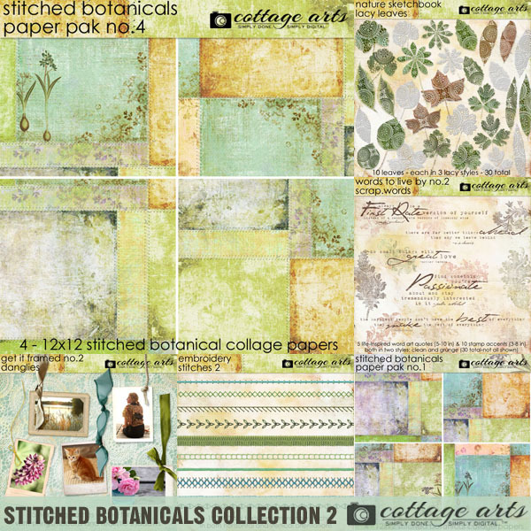 Stitched Botanicals Collection 2