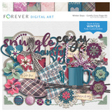 Winter Days - Comfy Cozy Page Kit