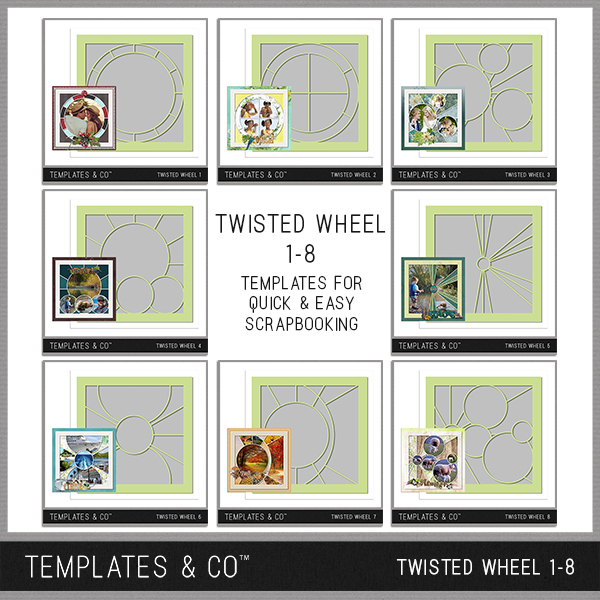 Twisted Wheel 1-8