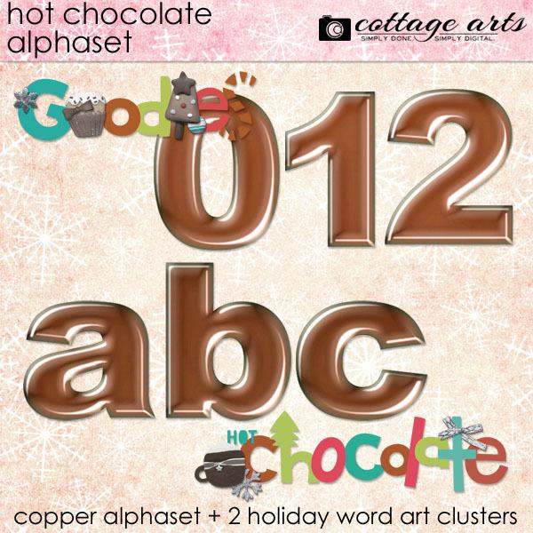 Hot Chocolate Alphaset