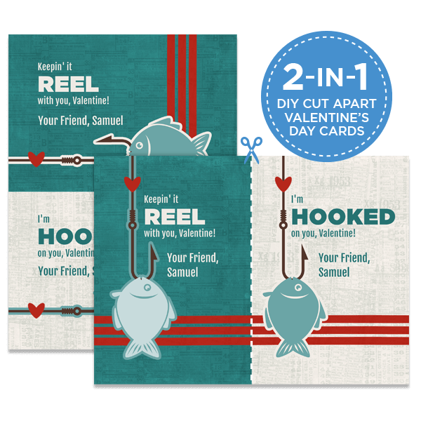 Hooked On You Card
