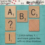 Game Tile AlphaSet