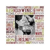 Wonderful Wine Subway Art Canvas