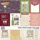 Wine A Little, Laugh A Lot Cards