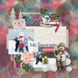 Winter Days Predesigned Pages - Set 2