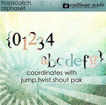 Hopscotch AlphaSet