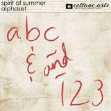 Spirit Of Summer AlphaSet