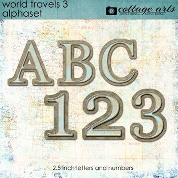 World Travels 3 AlphaSet