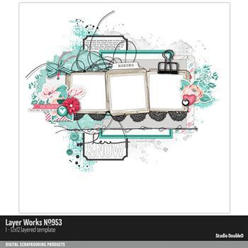 Layer Works No. 953 Layered Template