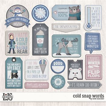 Cold Snap - Words