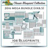 Classic Blueprint Collection 2016 Mega Bundle (11x8.5)