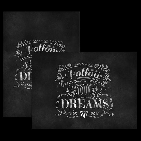 Follow Your Dreams Card