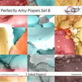 Perfectly Artsy Papers Set 8