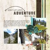 On An Adventure Pre-designed Book 12x12