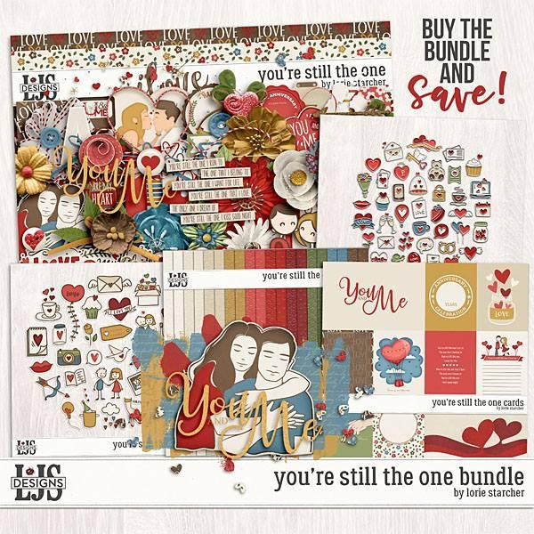 You're Still The One Bundle Digital Art - Digital Scrapbooking Kits