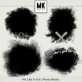 Hit Like A Girl - Photo Masks