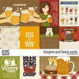 Burgers And Beers Cards