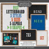 Letterboard Fun - Bundle