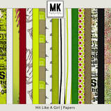 Hit Like A Girl - Page Kit