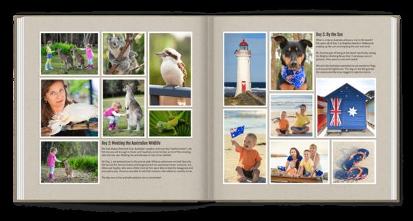 Simply Seven Photo Book