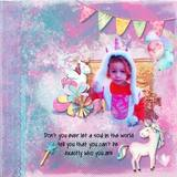 Always Be A Unicorn Scrap Kit