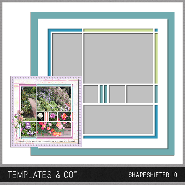Shapeshifter 10 Digital Art - Digital Scrapbooking Kits