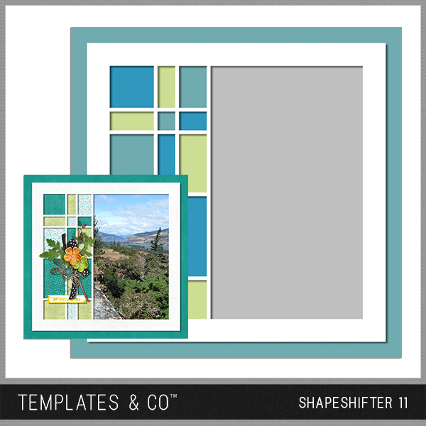 Shapeshifter 11 Digital Art - Digital Scrapbooking Kits