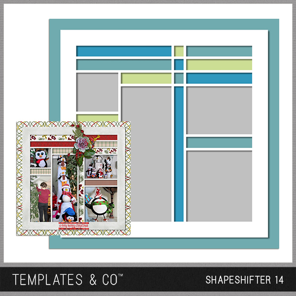 Shapeshifter 14 Digital Art - Digital Scrapbooking Kits